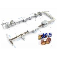 Quality 150L Mixer Tank Pastry Making Equipment  Snickers Enrobing Production Line for sale