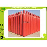 Quality Methane Ch4 Natural Gas Cylinders Packaged / High Purity Gases 74-82-8 for sale