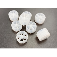 Quality White Color FDA Safty HDPE Material Moving Bed Biofilm Reactor Life Span 15 Years for sale