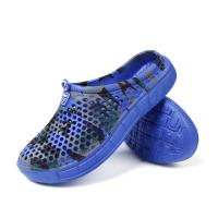 Quality Convenient Camo Printed Easy Walk Slippers Soft Bottom Slides Shoes for sale