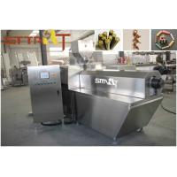 Quality Meat Strip Single Screw Extruder , Full Automation Food Processing Equipment for sale