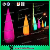 Quality Ada Inflatable 210T polyester Cloth Decoration Inflatable Cone For Events Entrance for sale