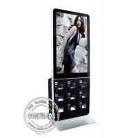 Quality Indoor 42 Lcd Advertising Player , Commercial Cell Phone Charging Lockers 1920*1080 for sale