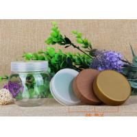 225ml Round Storage Bottle PP Lids Small Plastic Jars For Candy / Chocolate / Nuts