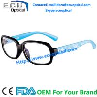 Quality new style 2014 spectacle round eyeglasses frames for women acetate flower in eyeglass temple for sale