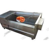 Commercial efficent fruit and vegetable washing and peeling machine for sale
