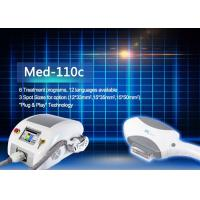 China MED - 110C 6 Treatment Programs IPL Hair Removal Machines With 12 Languages on sale
