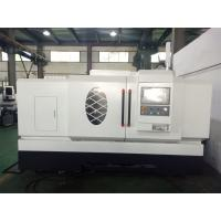 Quality 800mm Swing Diameter Flat Bed CNC Lathe Machine 250mm Sleeve With 11KW Spindle Motor for sale