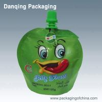 Quality high quality spout standing pouch for juice plastic packaging spouted bag,doypack bag for sale