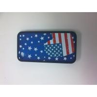 Quality USA Flag Lightweight Flexible Pretty Hard Shell 3D Printing Iphone 4 Case for sale