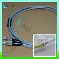 Quality FC-FC Multimode Duplex Armored Fiber Optic Patch Cord for sale