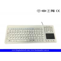 China Unfoldable Waterproof Silicone Keyboard With Mouse Touchpad And Full Keys on sale
