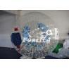 0.8 / 1.0mm PVC / TPU Soccer Football Inflatable Zorb Ball Grassplot Human Hamster Ball