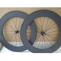 Quality Novatec Hub 88 Full Carbon Road Bike Wheels 700c Carbon Clincher With Areo Spokes for sale