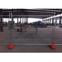 Quality Hot Dipped Galvanized Temporary Fence Mesh For Events / Sports 2100mm X 2400mm for sale