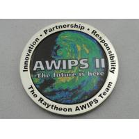 Quality OEM & ODM AWIPS Coin / Zinc Alloy Awards Personalized Coins with Offset Printing, Imitation Cloisonne Enamel for sale