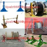 China Cable Drum Screw Jack&Manual Jack on sale
