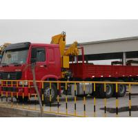 Quality Durable 11meters Truck Mounted Crane 6.3T Used  for Lifting Construction Materials for sale