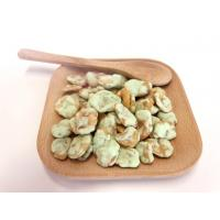 Quality Wasabi Flavor Cooated Fried Broad Beans Snack With Kosher Certificate for sale