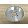 Ceramic Vitrified Bond Diamond Grinding Wheels For Processing Cermet OEM for sale