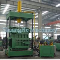 Buy Vertical Loose Materials / Waste Paper Baler Machine Larger Density Y82 - 200Q at wholesale prices