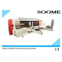 Quality Automatic Lead Edge Feeder , Rotary Manual Paper Die Cutting Machine 2T Weight for sale