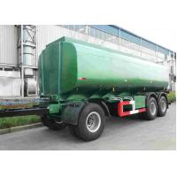 Quality 42000 Oil Tank Trailer / Fuel Tanker Semi Trailer With 4 Inch Manhole Cover for sale