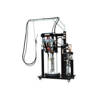 Two component extruder machine