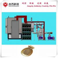 Buy cheap PVD Gold Plating Machine , Ion Plating Machine For Metal and ABS parts, PVD TiN from wholesalers