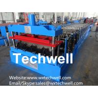 Quality Steel Structure Floor Deck Roll Forming Machine for Making Steel Structure Floor Decking Panel for sale