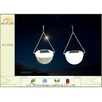 China Outdoor Waterproof IP55 Hanging Solar Lantern Lights For Camping / Garden on sale