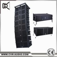 China wireless home theater system CVR powered professional line array speaker W-210BP on sale