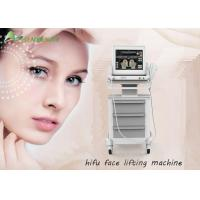 Buy cheap Professional beauty salon use Hifu Face Lifting Machine with 15 inch big LCD touch screen from wholesalers