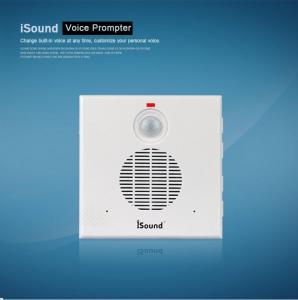 Quality COMER infrared sensor alarm MP3 sound speaker voice promt devices for sale