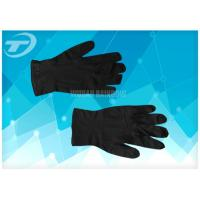 Quality 100% Natural Latex Disposable Hand Gloves / S Size Latex Examination Gloves for sale
