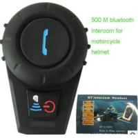 China Helmet Bluetooth Intercom Headsets for Motorcycle 500Meters on sale