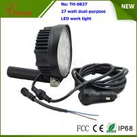 Quality Portable and off road 27W LED Work Light Lamp for 4X4 vehicles and LED emergency lighting for sale