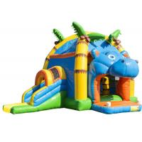 Quality Attractive Inflatable Toddler Bounce House With Slide , Commercial Inflatable Jump House for sale