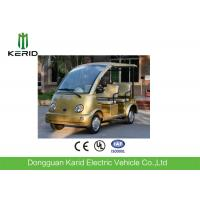 China FRP Body Curtis Controller Electric Sightseeing Car 48V AC Motor Zero Pollution on sale
