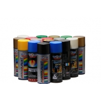 Quality 400ML Multipurpose Acrylic Aerosol Spray Paint RoHS SGS Certificate for sale