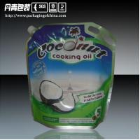 Quality Big Capacity Coconut Oil Laminated Aluminium Foil Packaging Bags With Handle for sale