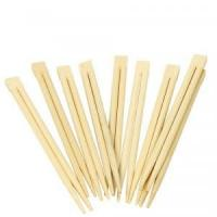 China Eco Friendly Disposable Bamboo Chopsticks With Customized Logo Printed on sale