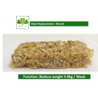 Quality 100% Natural Food Weight Loss Protein Bars Biscuit Cookie For Satiety for sale