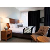 Buy Classic 3 Star Modern Hotel Bedroom Furniture / Budget Hotel Furniture at wholesale prices