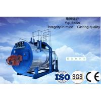 China Condensing Biomass Hot Water Boiler , Wood Pellet Steam Boiler Explosion Proof on sale