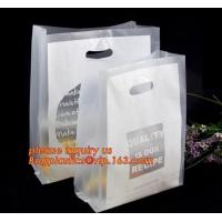 Quality 100% Biodegradable Hdpe/Ldpe Die Cut Patch Handle Personalized Color Printed Custom Plastic Shopping Bags bagease bagpla for sale