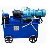 Buy cheap High Speed Rebar Thread Rolling Machine 4KW Power Electrical Control from wholesalers