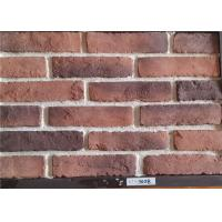 Multiple Colors Thin Faux Brick Veneer Exterior Brick Tiles With Kiln Transformation Surface
