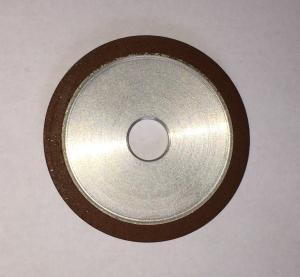 Quality Flat Resin Bonded Diamond Grinding Wheels Grit Abrasive For Crank Shaft Magnetic for sale