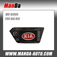 Quality Manda Car dvd gps for KIA RIO High Definition Factory Fit Navigation Multimedia System for sale